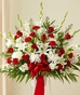 Funeral Flowers Red
