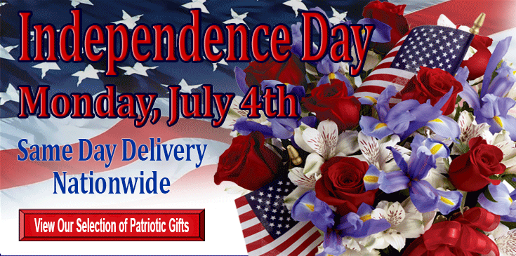 Celebrate the 4th of July with Veldkamp's Flowers and Gifts, 4th of July Flowers, Denver Florist 4th of July Flowers.