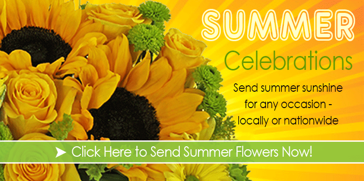 Summer Flowers, Summer Arrangements, Veldkamp's Summer Flowers, Denver Florist Summer Flowers.