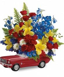 Keepsake Flower Bouquet