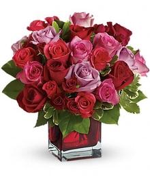 Jewel-Toned Rose Bouquet