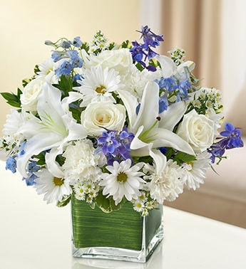 Healing Tears Bouquet 1 800 Flowers Sympathy Collection