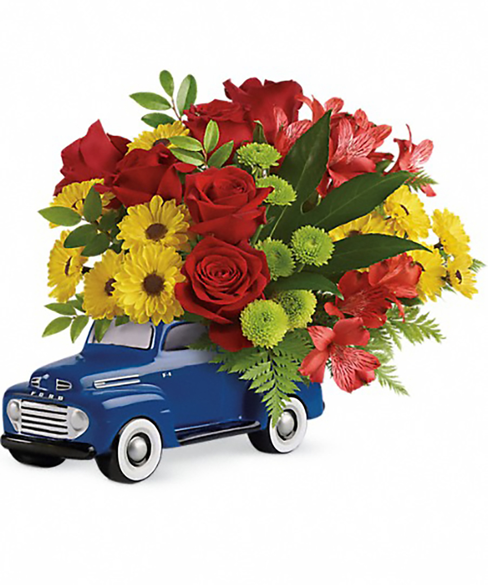 Birthday flowers flower cakes birthday balloons veldkamps glory days ford pickup izmirmasajfo