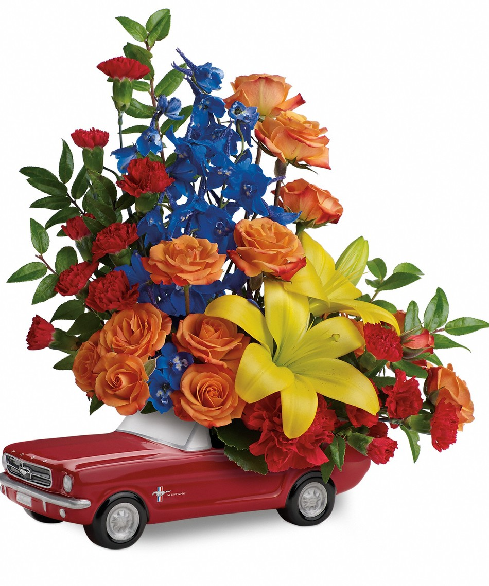 Mustang Flowers Flower Inspiration
